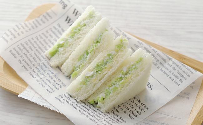 【離乳食完了期】枝豆チーズサンドイッチ