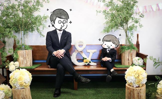 YUDAI9℃さんとお子さんの写真