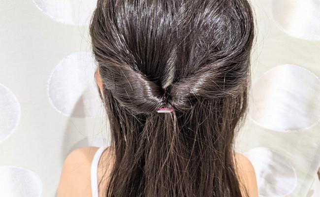 くるりんぱの髪型