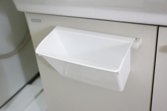 ダイソーグッズで洗面台下を大改造!