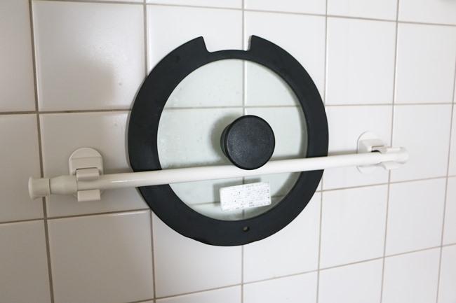 活用法5:鍋蓋収納もできちゃう!