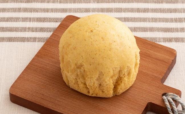 1歳~1歳6カ月ごろ(離乳食完了期)のレシピ「きな粉入り蒸しパン」