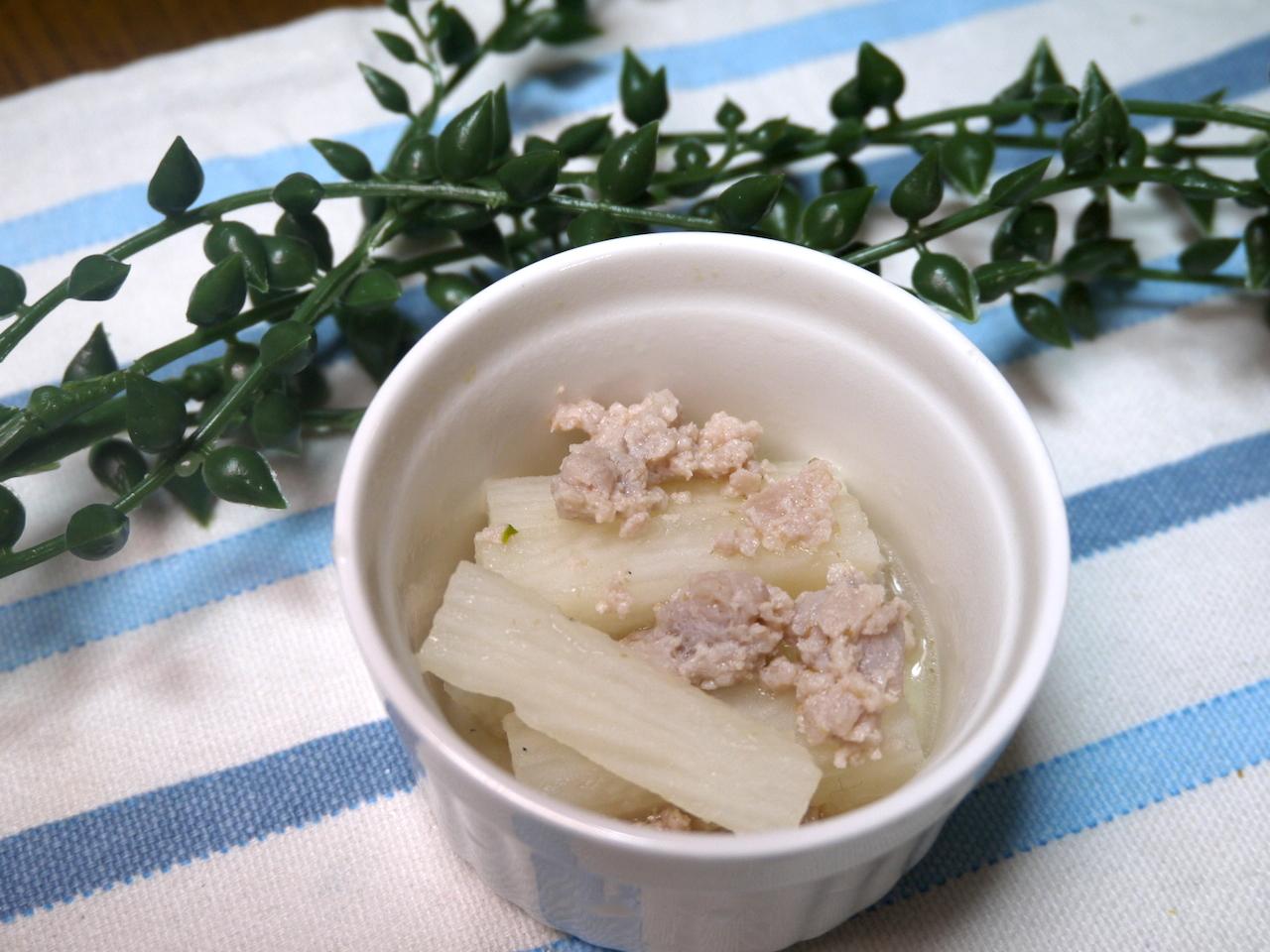 離乳食完了期 マグロと山芋の煮物