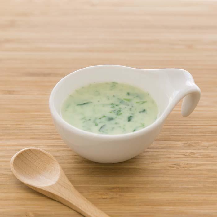 【離乳食中期】小松菜とかぶのスープ