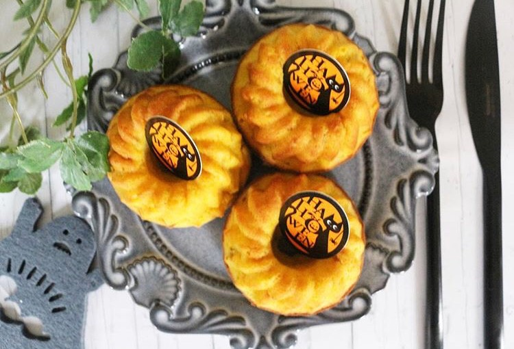 【離乳食完了期】かぼちゃのクグロフケーキ