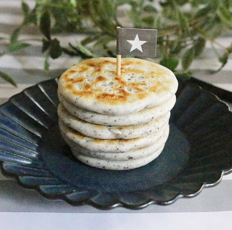 【離乳食後期】簡単!米粉のシンプルなパンケーキ