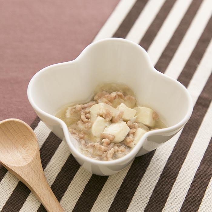 【離乳食後期】豆腐のそぼろ煮