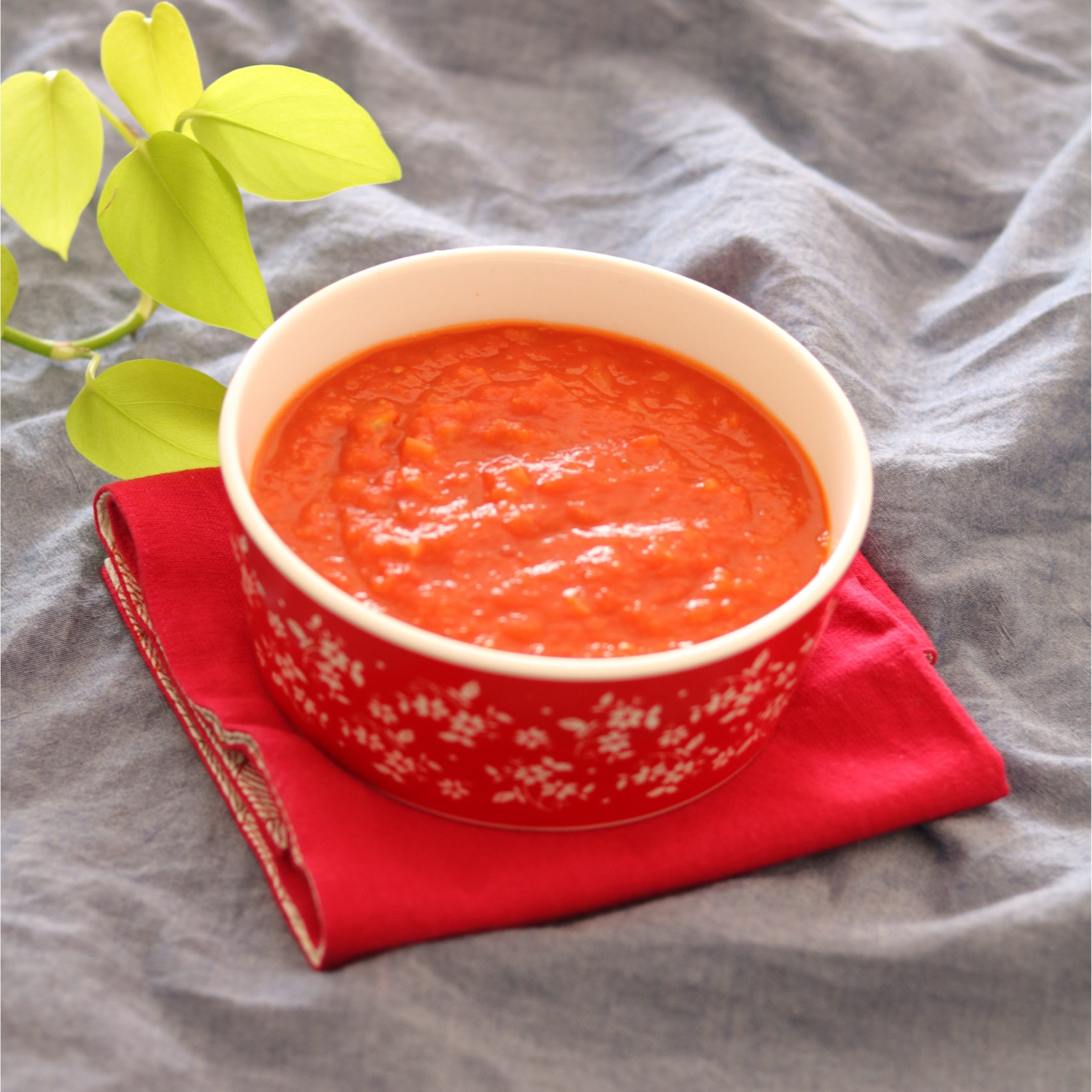 【離乳食後期】我が家のトマトソース