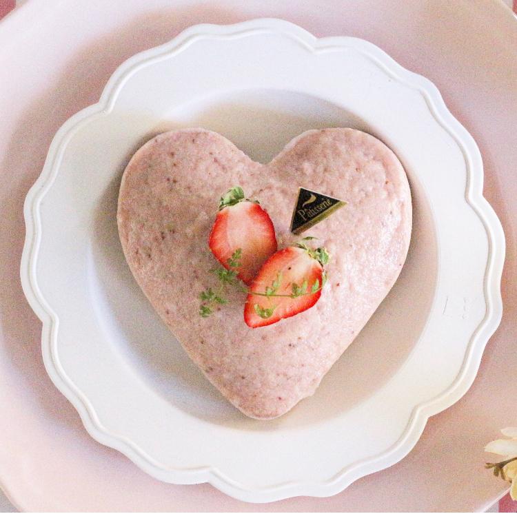 【離乳食後期】ほんのり春色♡いちごたっぷり米粉のスチームケーキ
