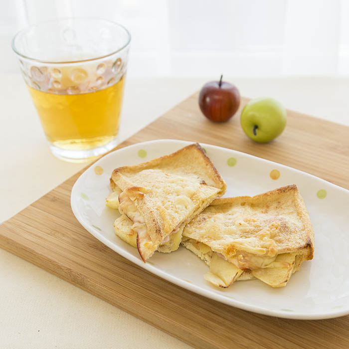 りんごチーズサンド