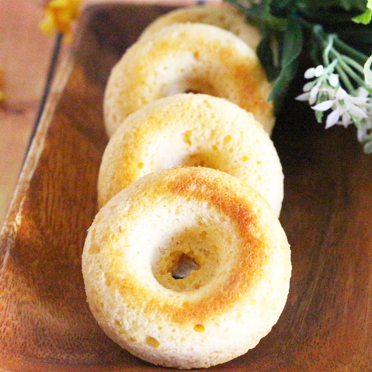 【離乳食完了期】おからの焼きドーナツ