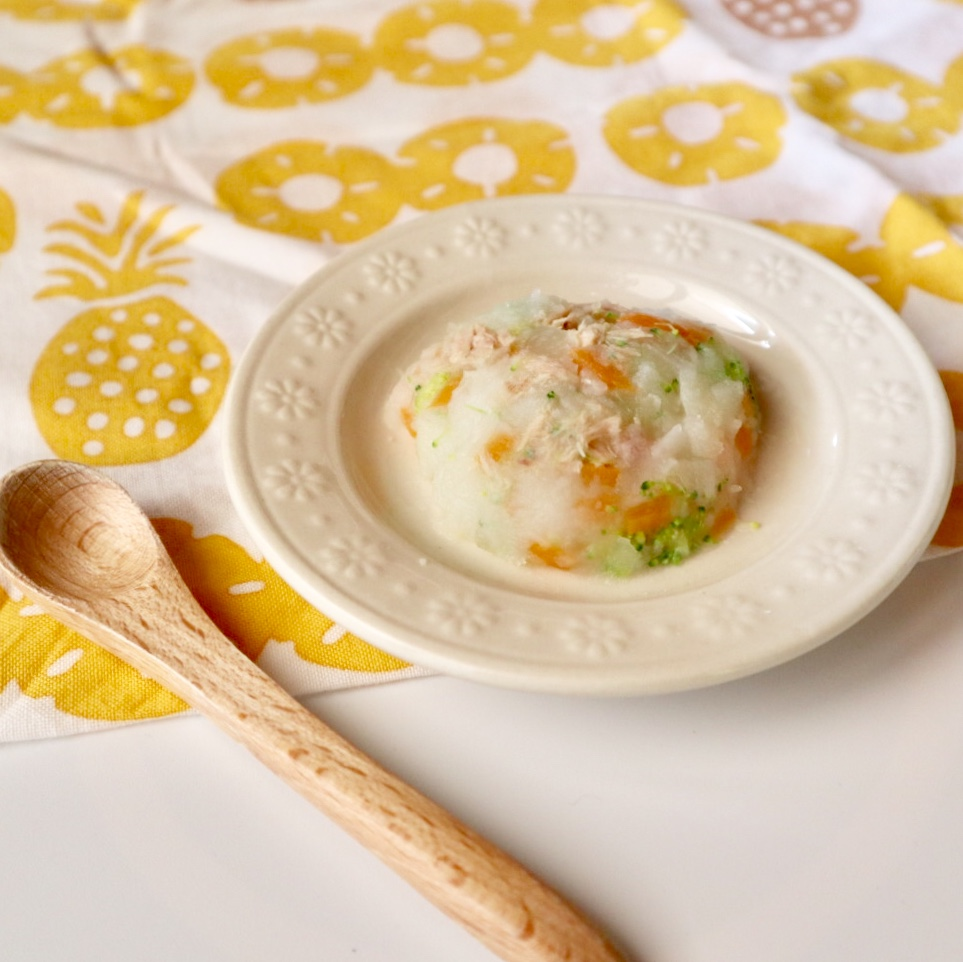 【離乳食中期】ツナ入りポテトサラダ