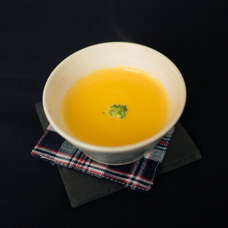 【離乳食後期】人参と玉葱のポタージュ