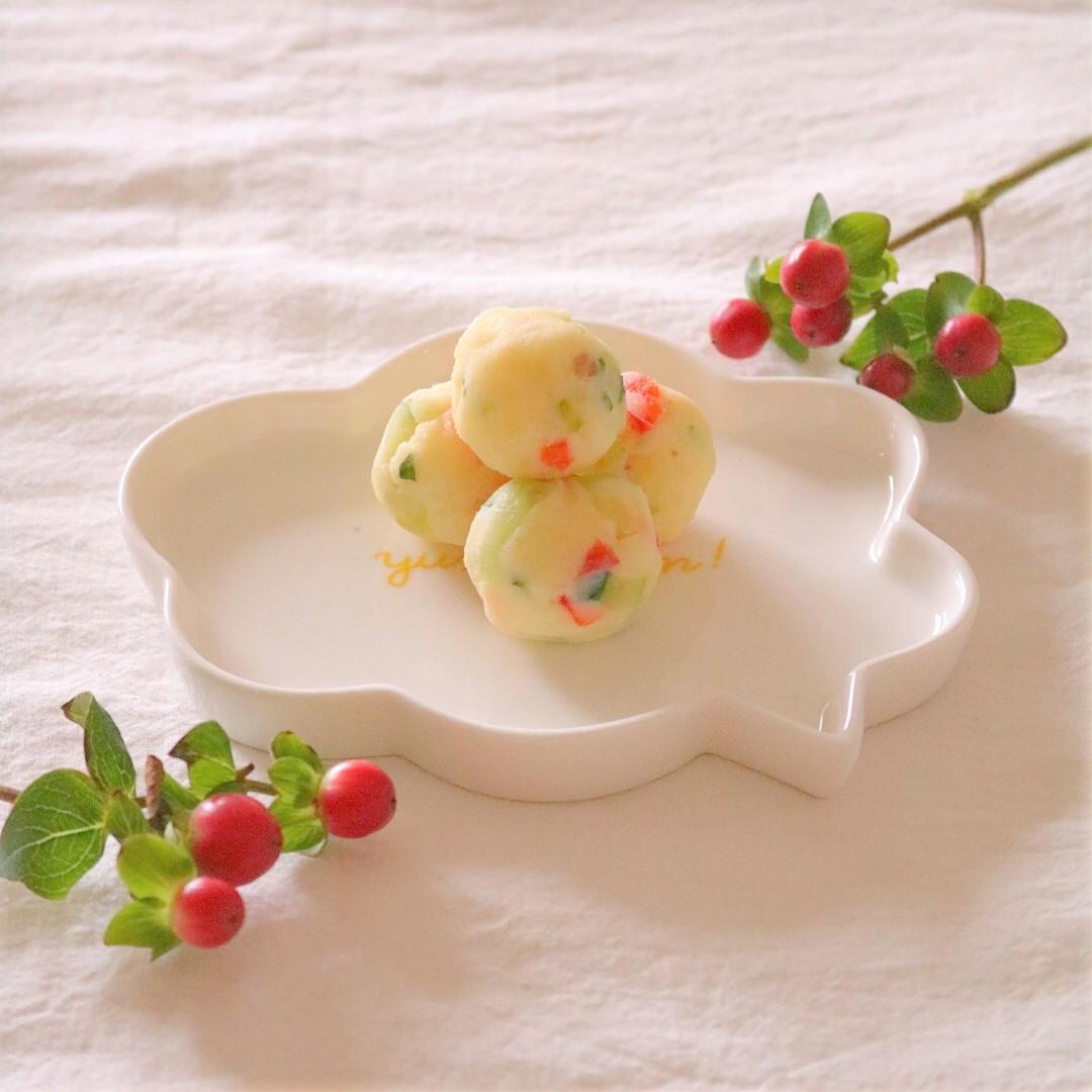 【離乳食完了期】ポテトサラダボール