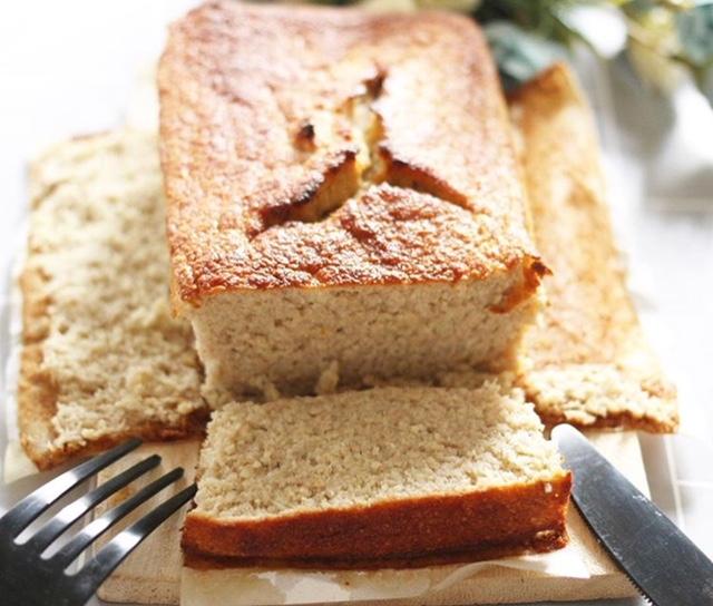 【離乳食完了期】小麦粉、オイル不使用のおからバナナブレッド