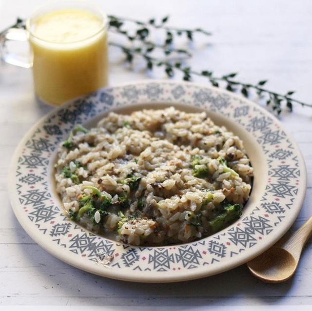 【離乳食完了期】鶏レバーと根菜のラグーリゾット