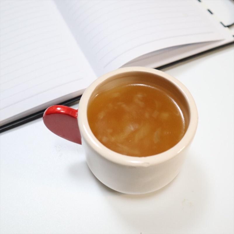 【離乳食中期】キャベツのコンソメスープ