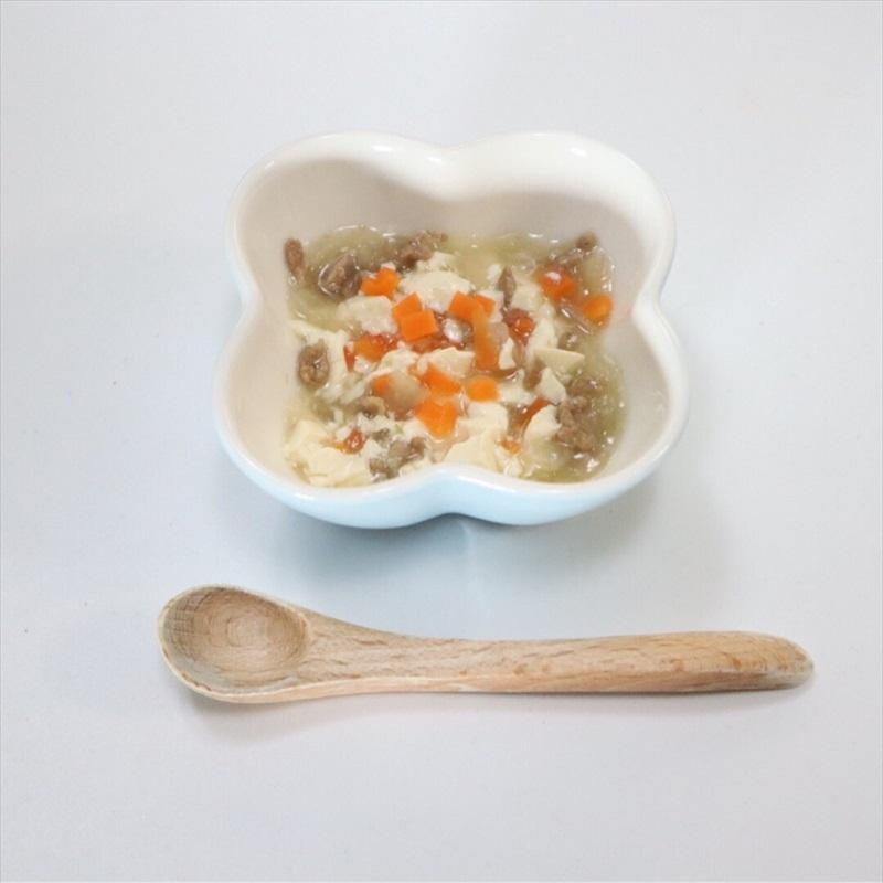 【離乳食後期】辛くない麻婆豆腐