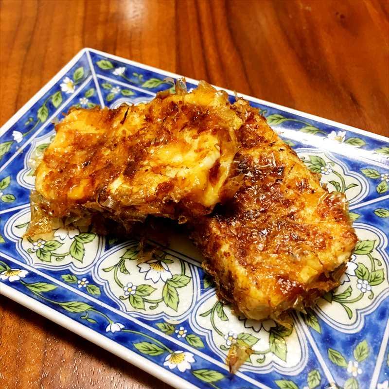 【離乳食後期】豆腐のおかか焼き