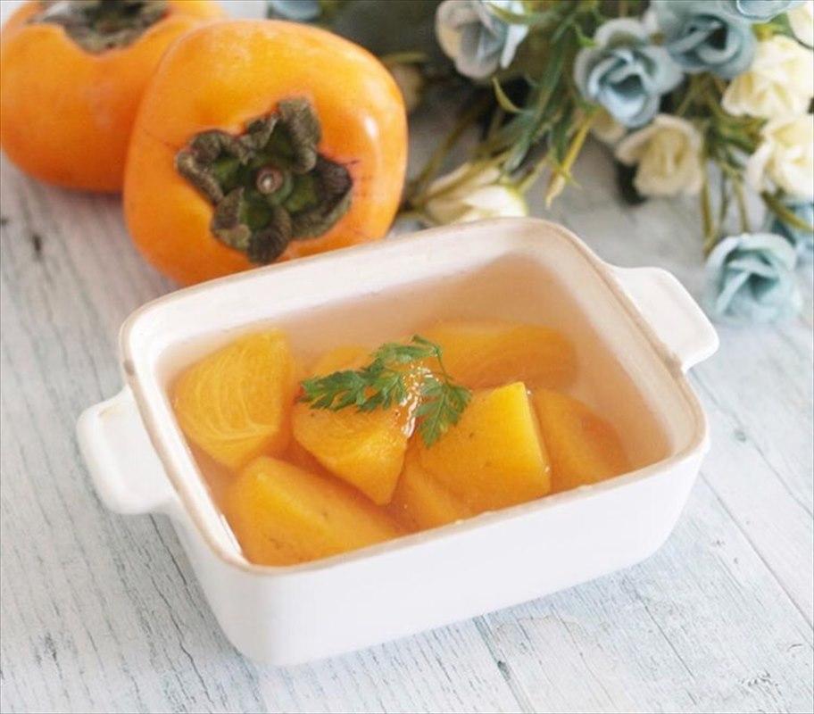 【離乳食後期】柿のコンポート