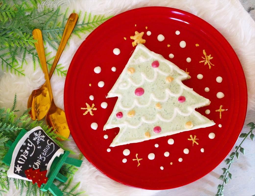 【離乳食完了期】野菜ヨーグルトのクリスマスケーキ