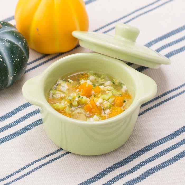 【離乳食中期】かぼちゃのそぼろ煮
