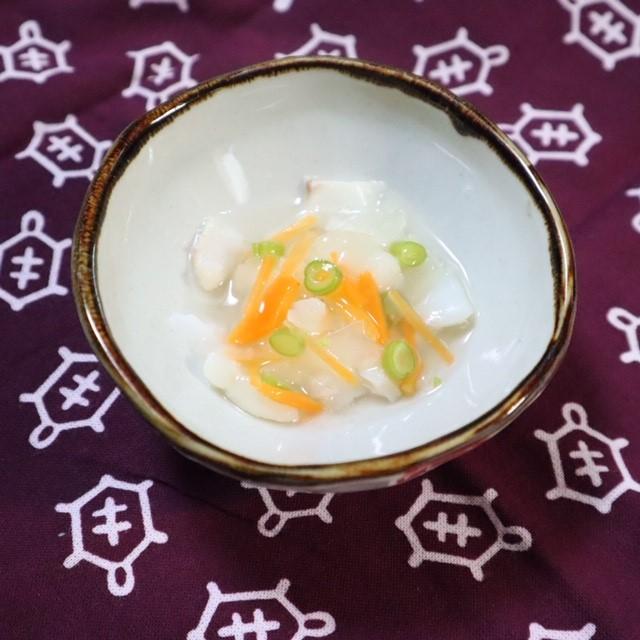 【離乳食後期】たらの野菜あんかけ