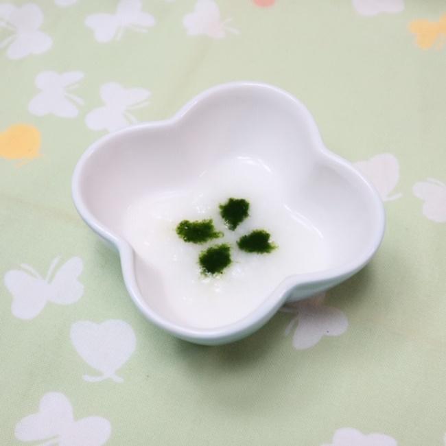 【離乳食初期】小松菜粥