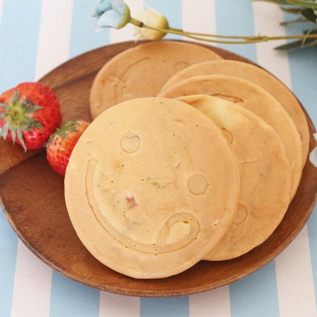 【離乳食完了期】野菜たっぷりパンケーキ