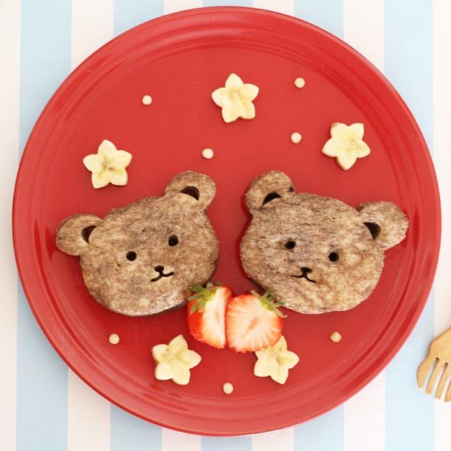 【離乳食完了期】くまフレンチトースト