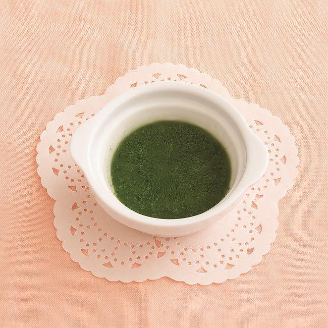 【離乳食初期】小松菜のペースト