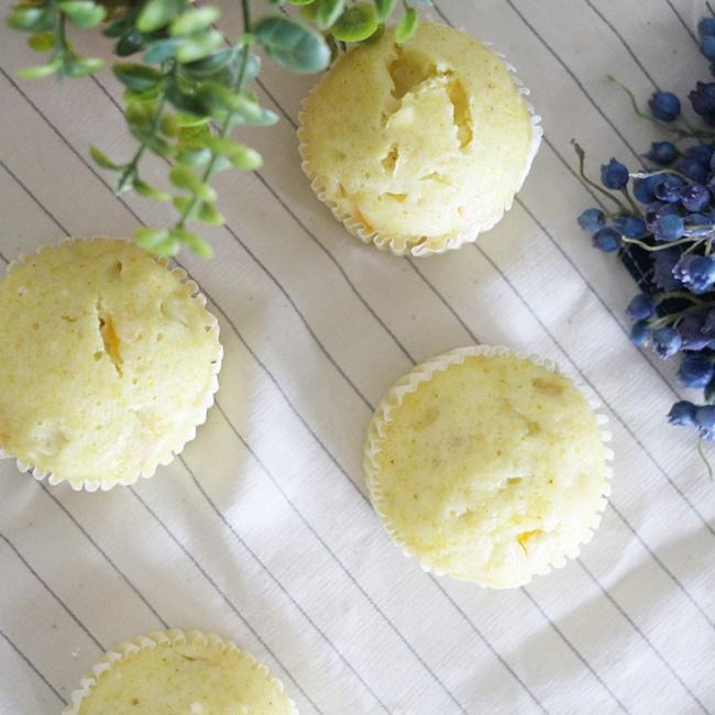 【離乳食完了期】黄ズッキーニのカレー蒸しパン