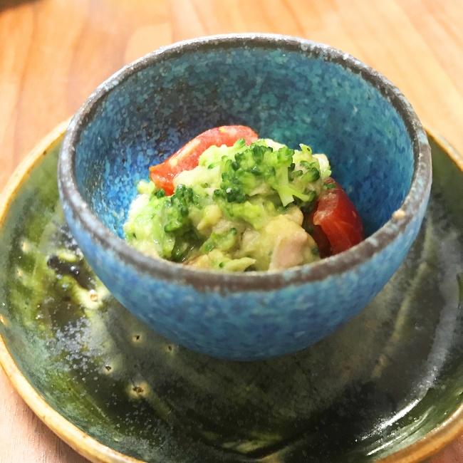 【離乳食完了期】アボカドブロッコリーのツナサラダ