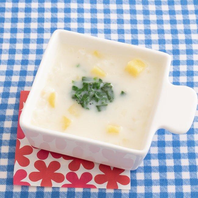 【離乳食】さつまいもと玉ねぎのクリーム煮