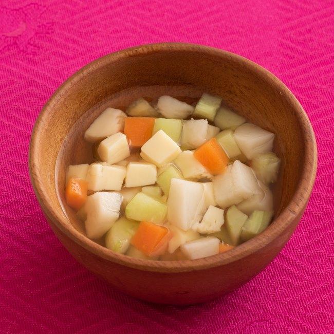 【離乳食9〜11カ月】里いもと野菜の煮物