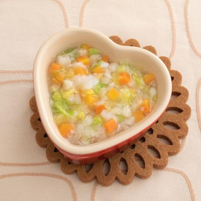 【離乳食中期】タラと白菜の煮込み鍋