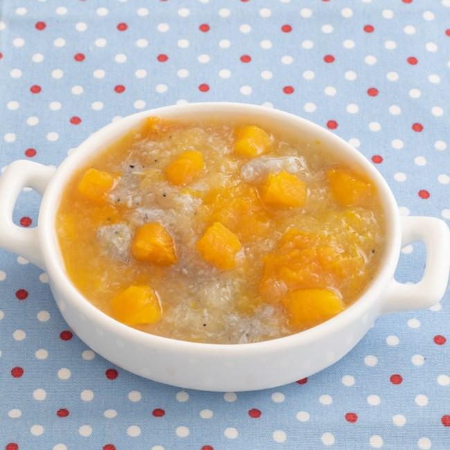 【離乳食中期】かぼちゃとしらすのみぞれ煮