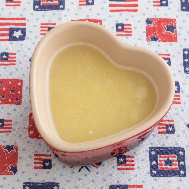 【離乳食初期】トロっとしたポテトスープ