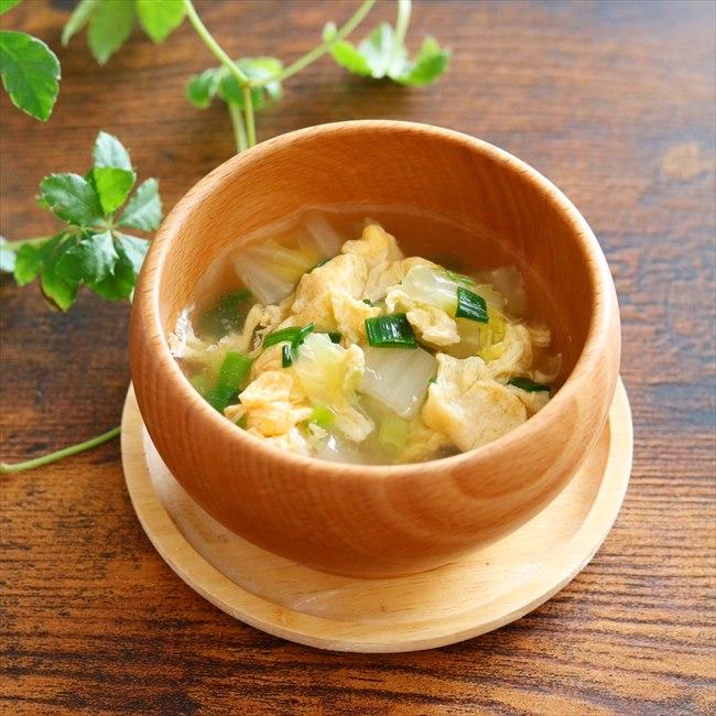 【離乳食後期】白菜とたまごのスープ