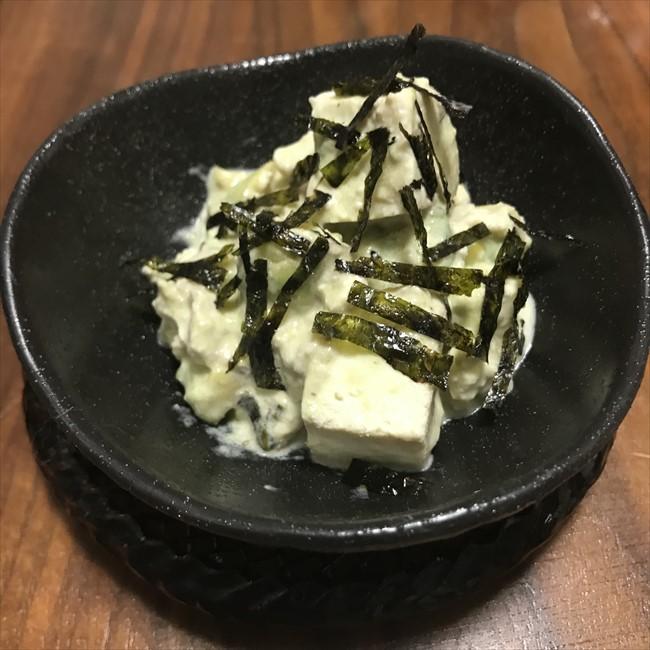 【離乳食後期】アボカドと豆腐のサラダ
