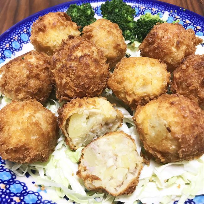 【離乳食完了期】大豆コロッケ