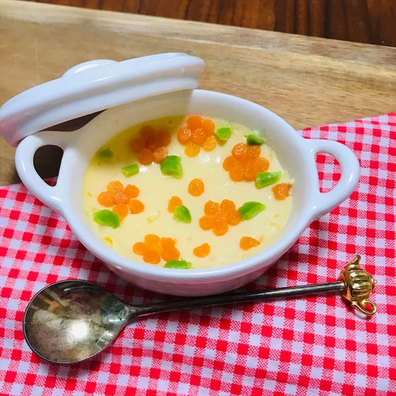 【離乳食中期】レンジ茶碗蒸し