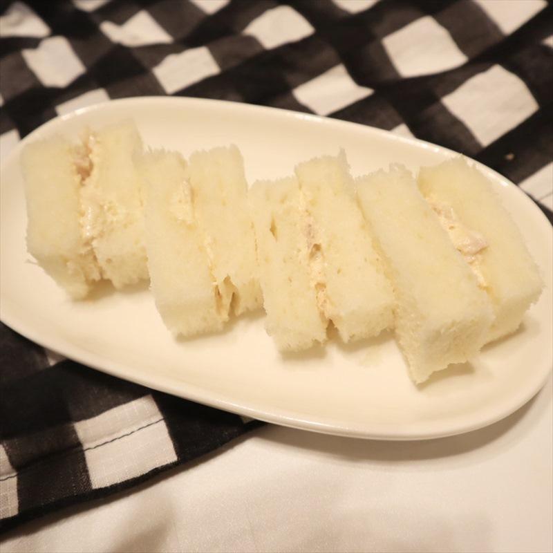 【離乳食完了期】ツナマヨサンド