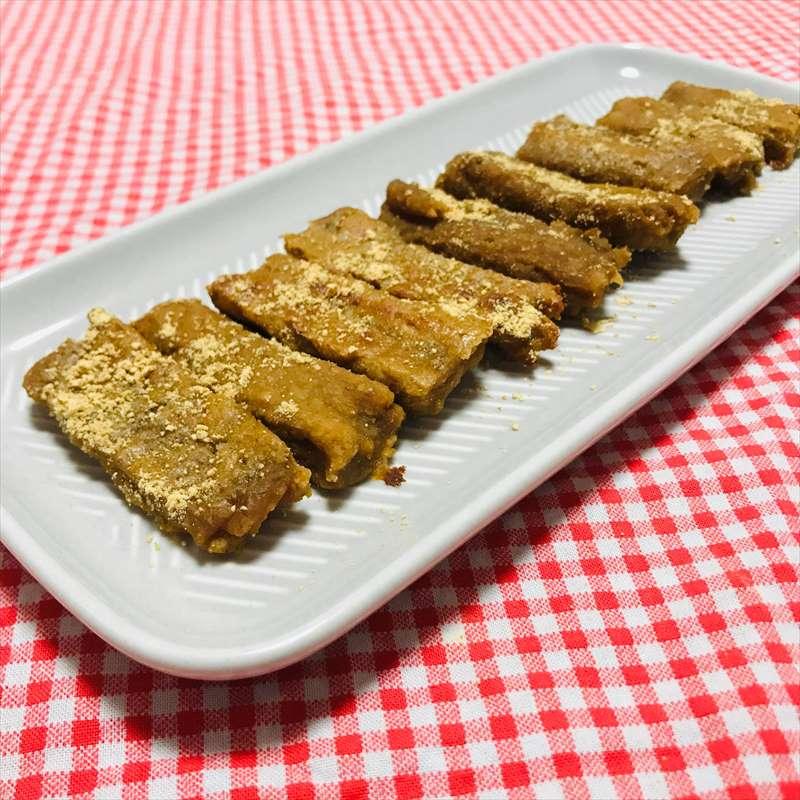 【離乳食完了期】豆腐とバナナのミルクソフトクッキー