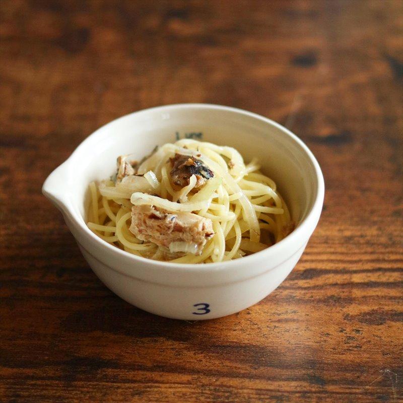 【離乳食完了期】サバ缶で簡単パスタ