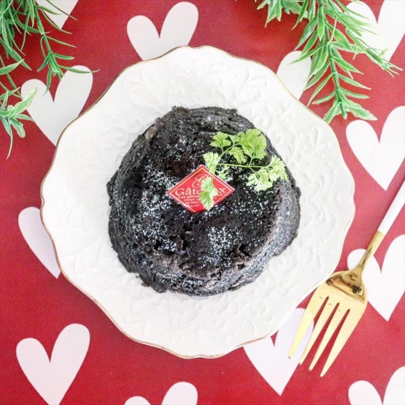 【離乳食完了期】バレンタイン♡食パンでガトーショコラ風