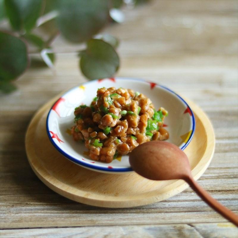 【離乳食中期】レンジで納豆さやいんげん