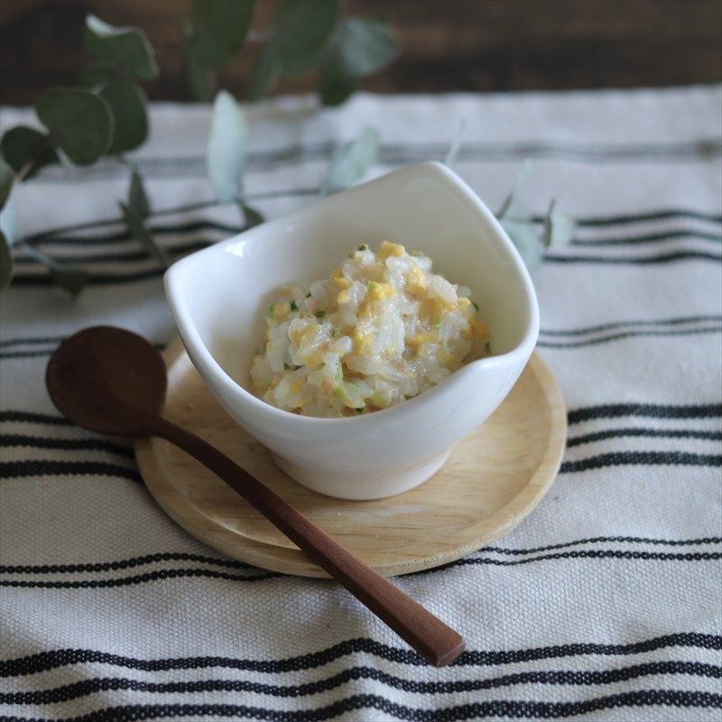 【離乳食中期】卵チャーハン