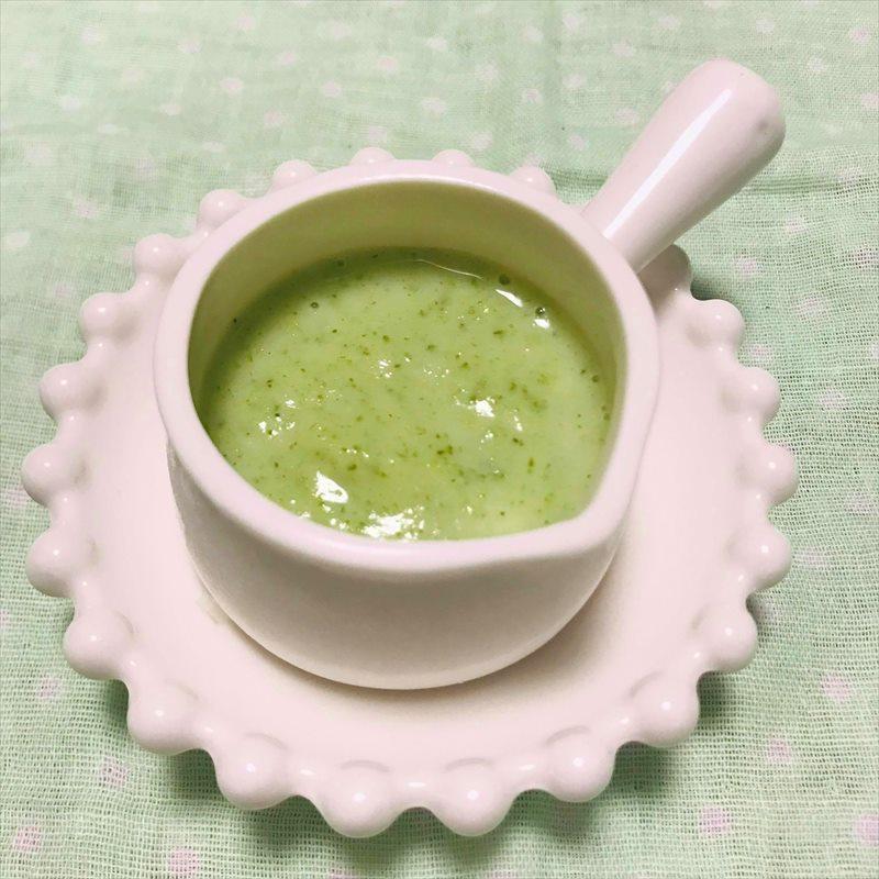 【離乳食初期】ブロッコリーのミルクポタージュ