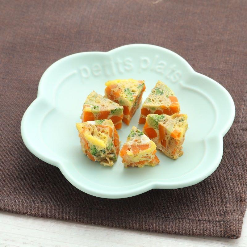 【離乳食完了期】にんじんレンジオムレツ